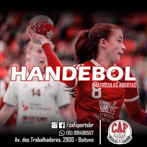 Comprar o produto de Handebol em A Classificar pela empresa CAF - Centro de Atividade Física em Boituva, SP por Solutudo