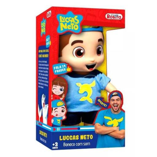 Comprar o produto de Boneco Luccas Neto em Brinquedos e Hobbies pela empresa Lopes Mundo dos Eletronicos em Tietê, SP por Solutudo