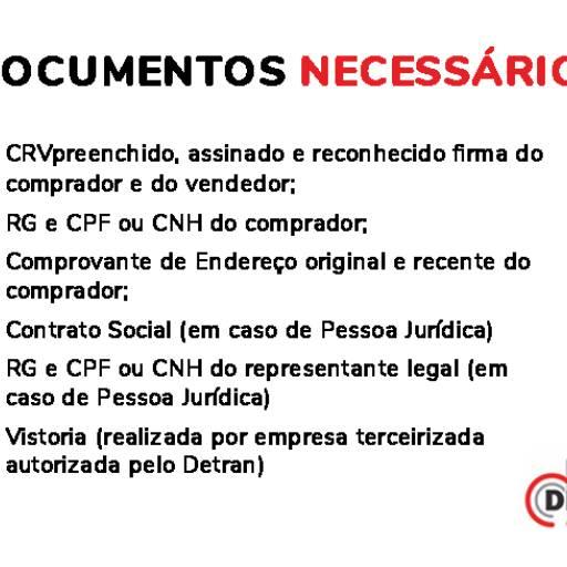 Comprar o produto de Transferência de Veículos em Serviços de Veículos pela empresa Despal Despachante em Atibaia, SP por Solutudo