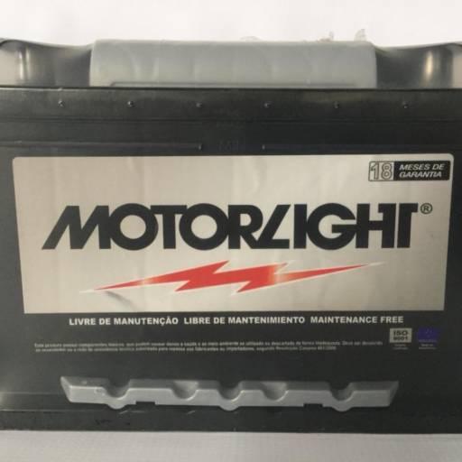 Bateria Motorlight 60AH  por Casa das Baterias