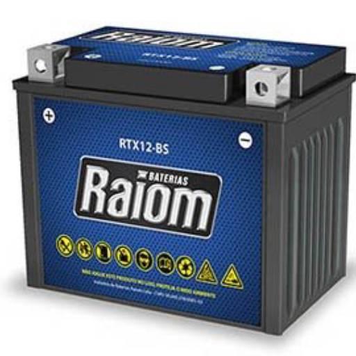 Comprar o produto de Baterias Raiom em Baterias para Motos pela empresa Casa das Baterias Iacanga em Americana, SP por Solutudo