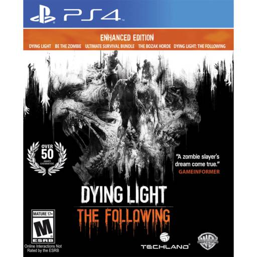 Dying Light: The Following - Enhanced Edition - PS4 por IT Computadores, Games Celulares