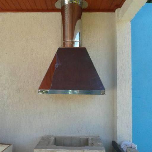 Coifa para churrasqueiras por Iguaçu Calhas