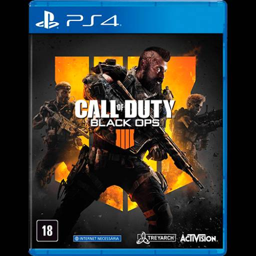 Call of Duty: Black Ops IV - PS4 (Usado) em Tietê, SP por IT Computadores, Games Celulares