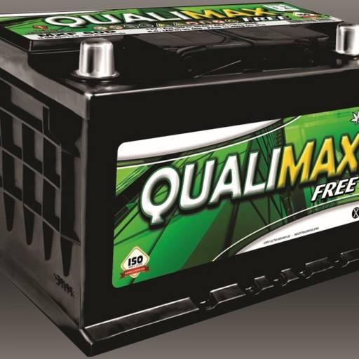 Comprar o produto de Baterias Qualimax Free em Baterias pela empresa Casa das Baterias Iacanga em Americana, SP por Solutudo
