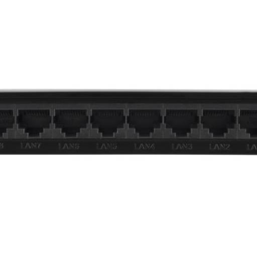 Switch 8 portas Fast Ethernet SF 800 Q+ Intelbras em Jundiaí, SP por Nksec Segurança e Tecnologia