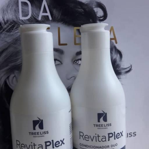Kit Revita Plex - Vinagre de Maça Shampoo + Condicionador 300 ml da Tree liss por Maryton Cosméticos e Acessórios