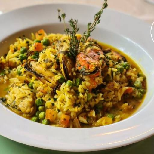 ARROZ CALDOSO DE MARISCO por Restaurante Quintal do Gui