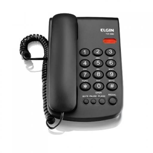 Telefone c/ Fio Elgin - TCF 2000 por Mega Max TI