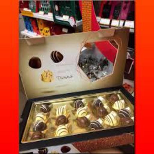 Comprar o produto de Caixa Bombom Divino 360g em Sobremesas pela empresa Chocolates Brasil Cacau Botucatu em Botucatu, SP por Solutudo