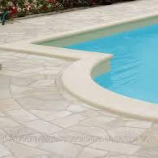 Comprar o produto de Pedra para piscina - CACO São Tomé em Outros pela empresa Duragran Pedras Decorativas, Mármores e Granitos em Botucatu, SP por Solutudo