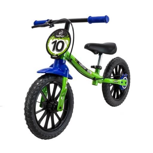 Bicicleta de equilíbrio Nathor masculino aro 12 por Salles Bikes