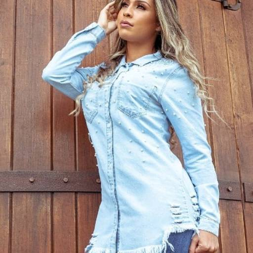 Camisa jeans  em Americana, SP por Mulher Atual