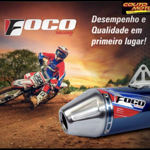 ESCAPAMENTO FOCO RACING CRF250F em Botucatu, SP por Couto Motos Racing