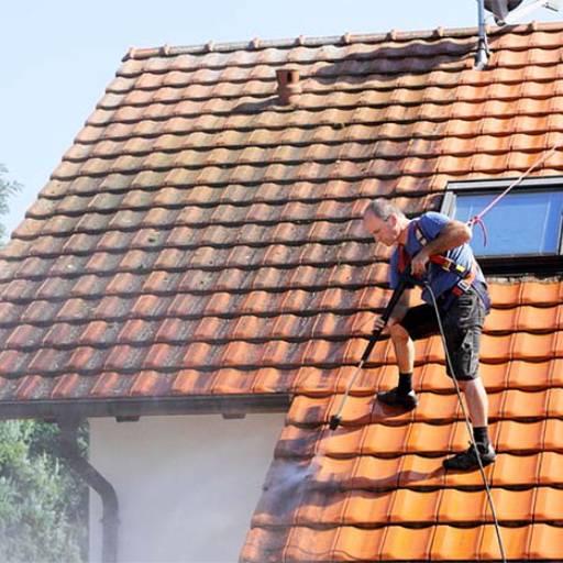 Comprar o produto de Limpeza de Telhados em Limpeza pela empresa HG Clean - Jardim e Piscina em Atibaia, SP por Solutudo