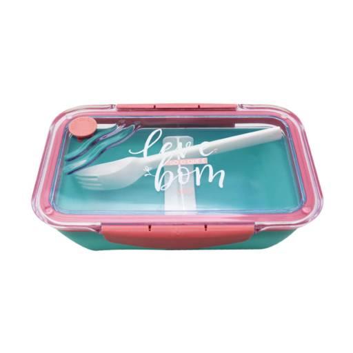 Comprar o produto de Marmita Wave Slim - Leve só o que é bom  em Presentes Criativos pela empresa Ateliê Kelly Mendonça em Aracaju, SE por Solutudo