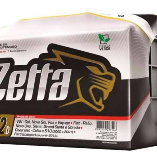 Comprar o produto de Bateria Zetta em Baterias pela empresa Casa das Baterias Iacanga em Americana, SP por Solutudo